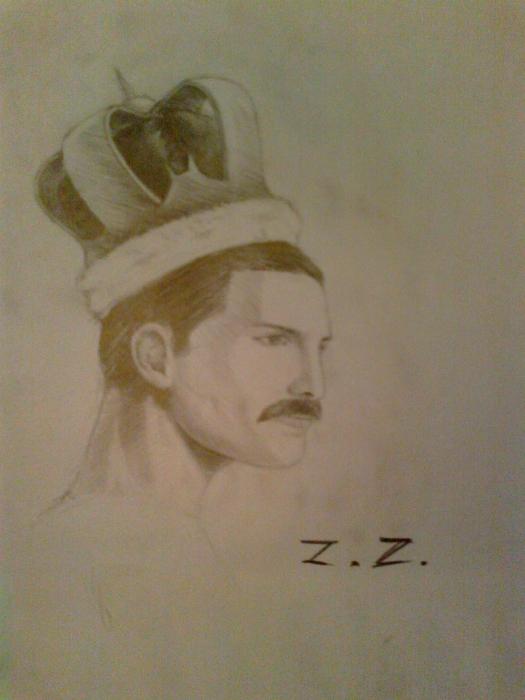 Freddie Mercury by zuzu